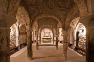 Catedral de San Vicente, cripta. Roda de Isábena