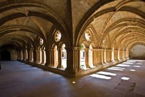 Claustro del monasterio de Rueda, Sástago
