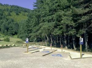 Parkin adaptado del sendero del Isábena