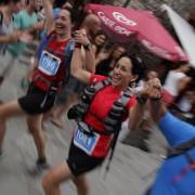 Llegada de la Maratón de las Tucas 2013