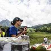 Avituallamiento en la Vuelta al pico Cerler 2013