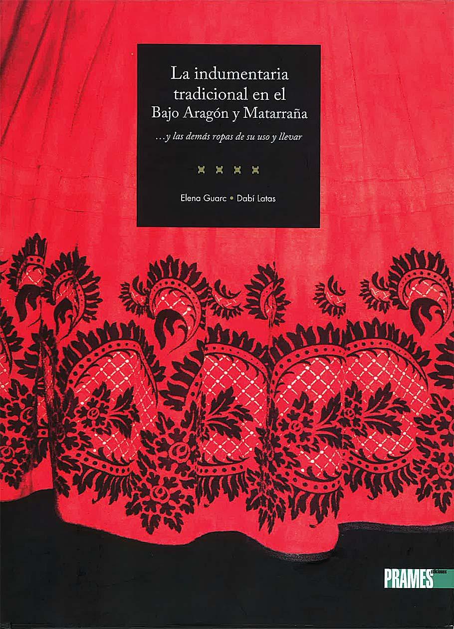 La indumentaria tradicional en el Bajo Aragón y Matarraña, portada.