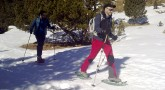 Ruta con raquetas de nieve: Llanos del Hospital-refugio de La Renclusa
