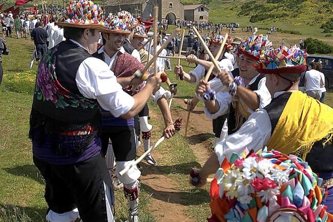 Ruta del Santo Grial, romería de Santa Orosia.