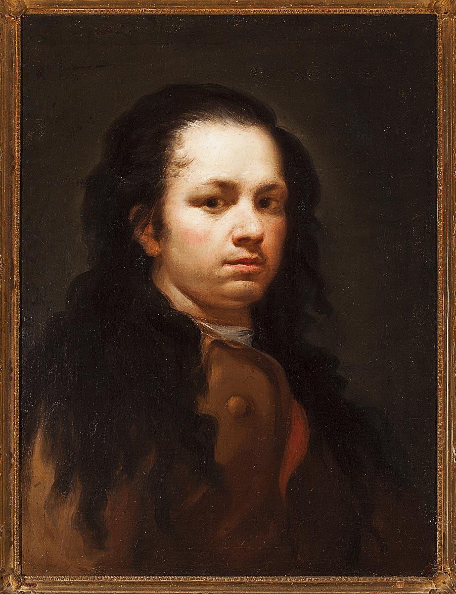 Autorretrato, c. 1775. Óleo sobre lienzo. Museo Goya. Colección Ibercaja. Fotografía: Daniel Marcos.
