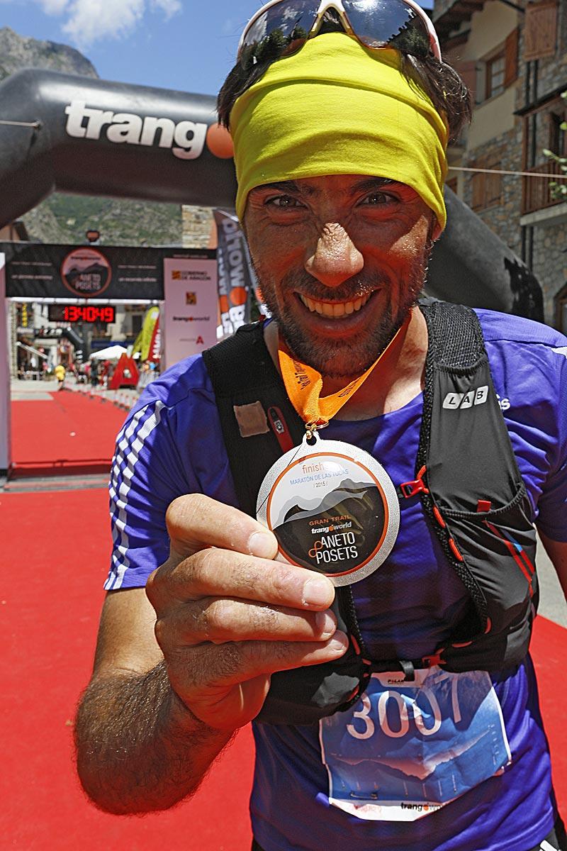 Luis Alberto Hernando, vencedor de la Maratón de las Tucas (foto: Javier Melero).