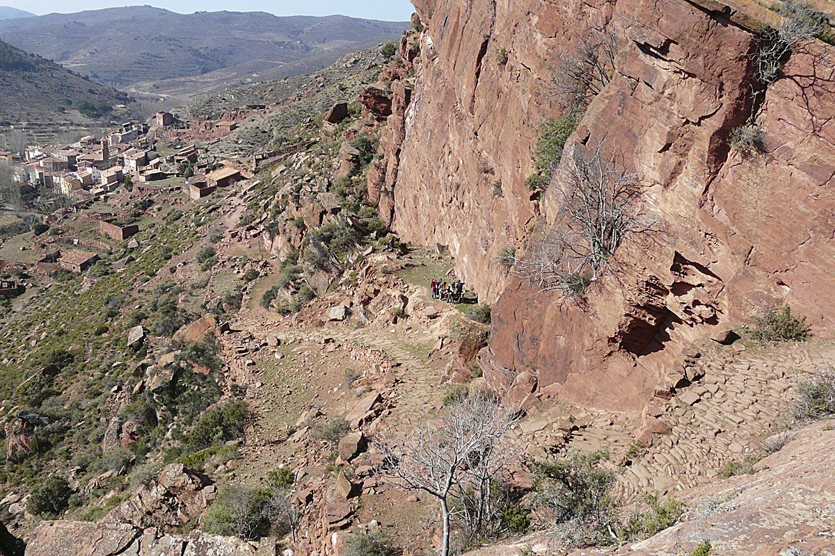 Vista de Peñarroyas (foto: J. Royo Lasarte).