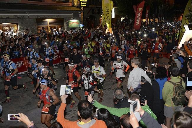 Salida del GTTAP la noche del viernes (fotos: Javier Blasco).