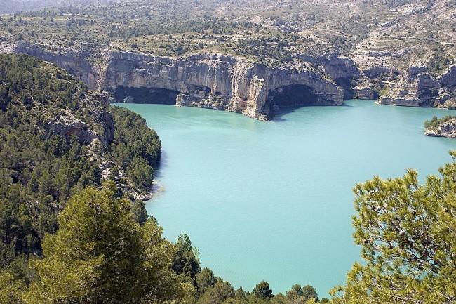 Embalse de Santolea (Castellote).