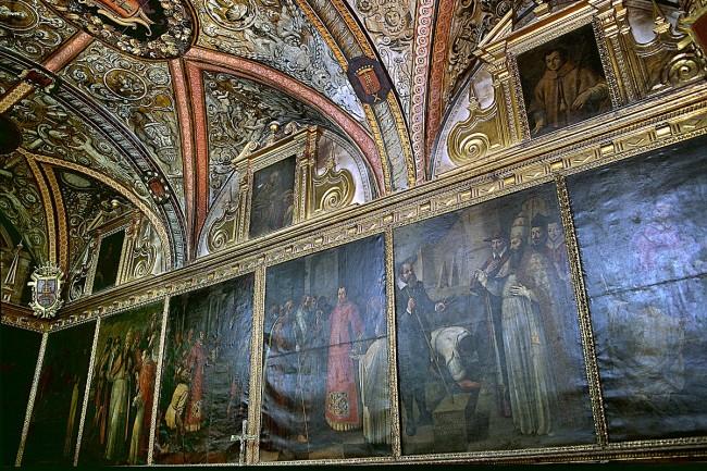 Sacristía de la iglesia de San Lorenzo (foto: Archivo Prames).