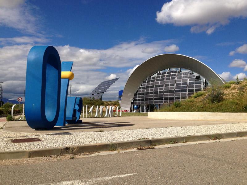 Planetario de Huesca (foto: Visitar Huesca).