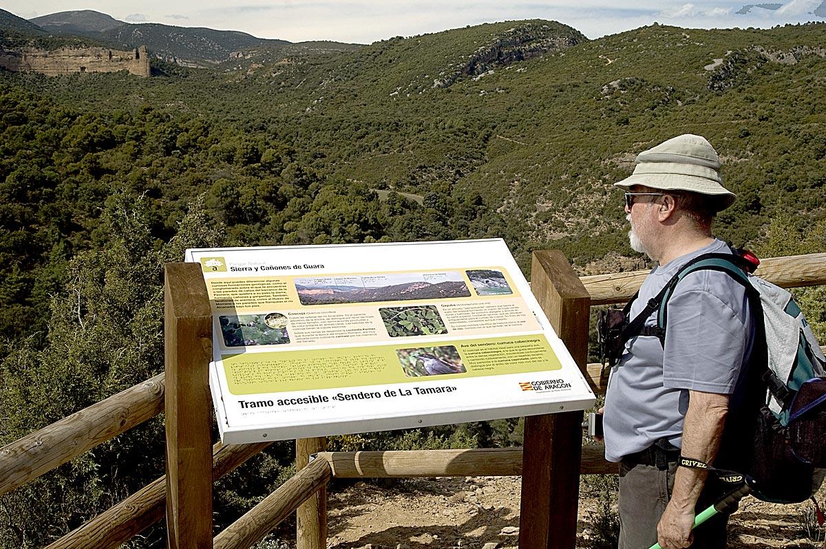Sendero de la Tamara (Bierge), Camino Natrual de Barbastro
