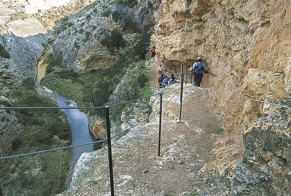 Ruta de Los Estrechos, etapa del GR 262 entre Ariño y Albalate del Arzobispo.