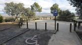 El mirador accesible de San Quílez se suma a los «Senderos para todos» de Huesca