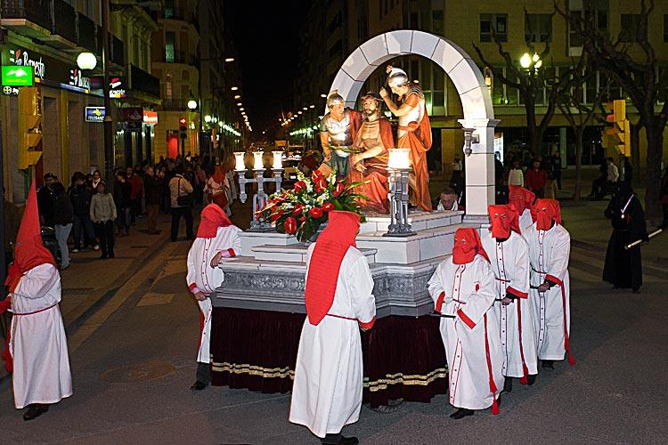 Semana Santa de Huesca, procesión de la Coronación de Espinas