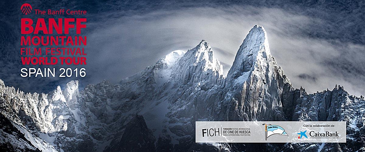 Imagen del Banff Mountain Film Festival World Tour Huesca 2016.