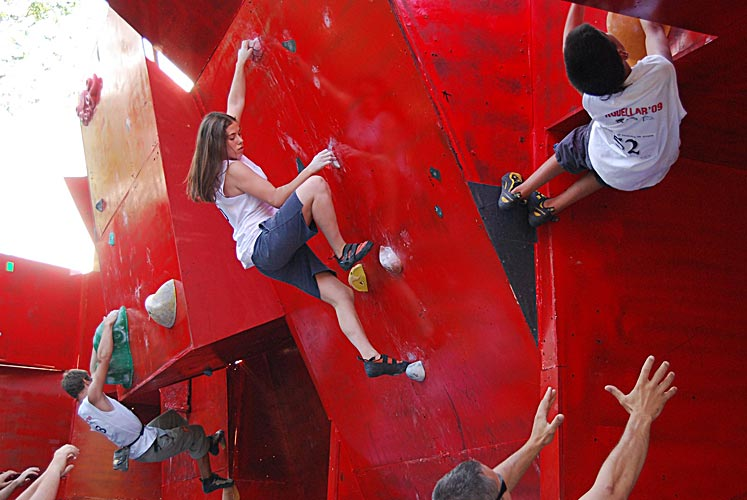 I Competeción de Escalada en Bloque Ciudad de Huesca