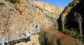 Reapertura de las pasarelas de Alquézar y Sendero Turístico GR 1.1