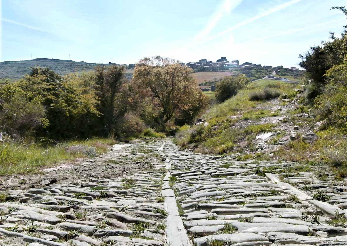 Undués de Lerda. Camino de Santiago francés por Aragón.