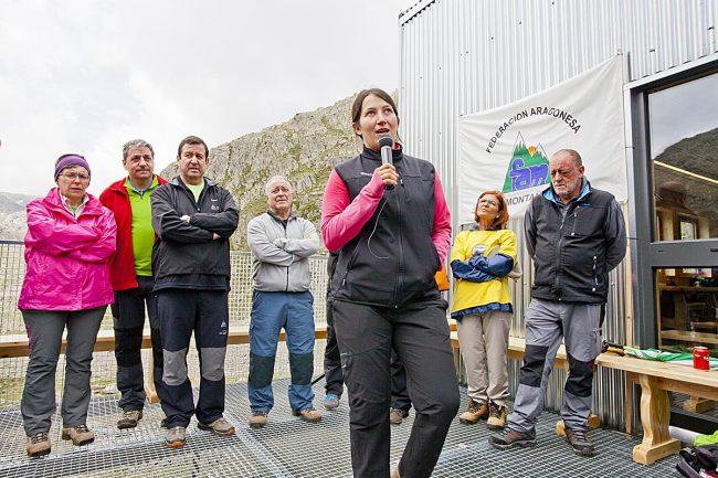 Esther Cereza, Alcaldesa de Montanuy.