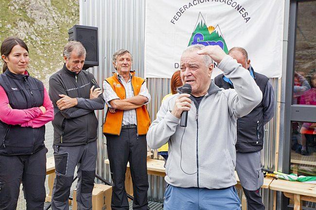 Miguel Gracia, presidente de la Diputación Provincial de Huesca.