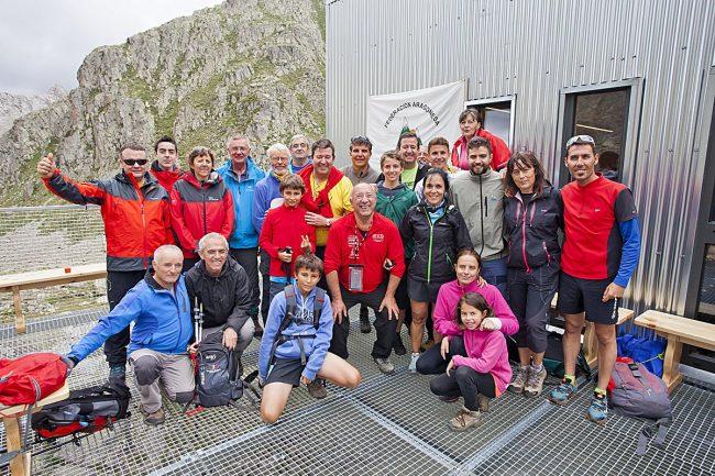 Grupo de Montañeros de Aragón Barbastro.