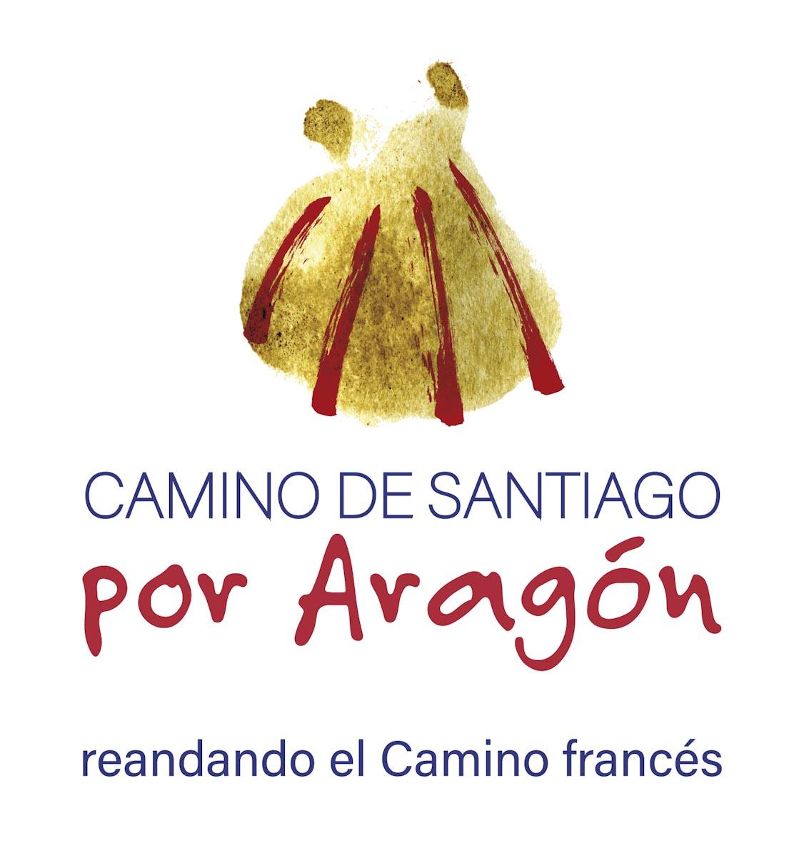 Marca Camino de Santiago francés por Aragón