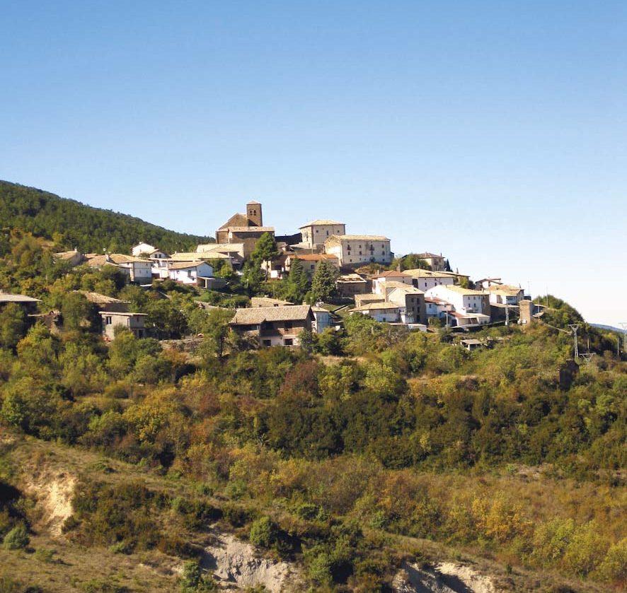 Mianos. Camino de Santiago francés por Aragón