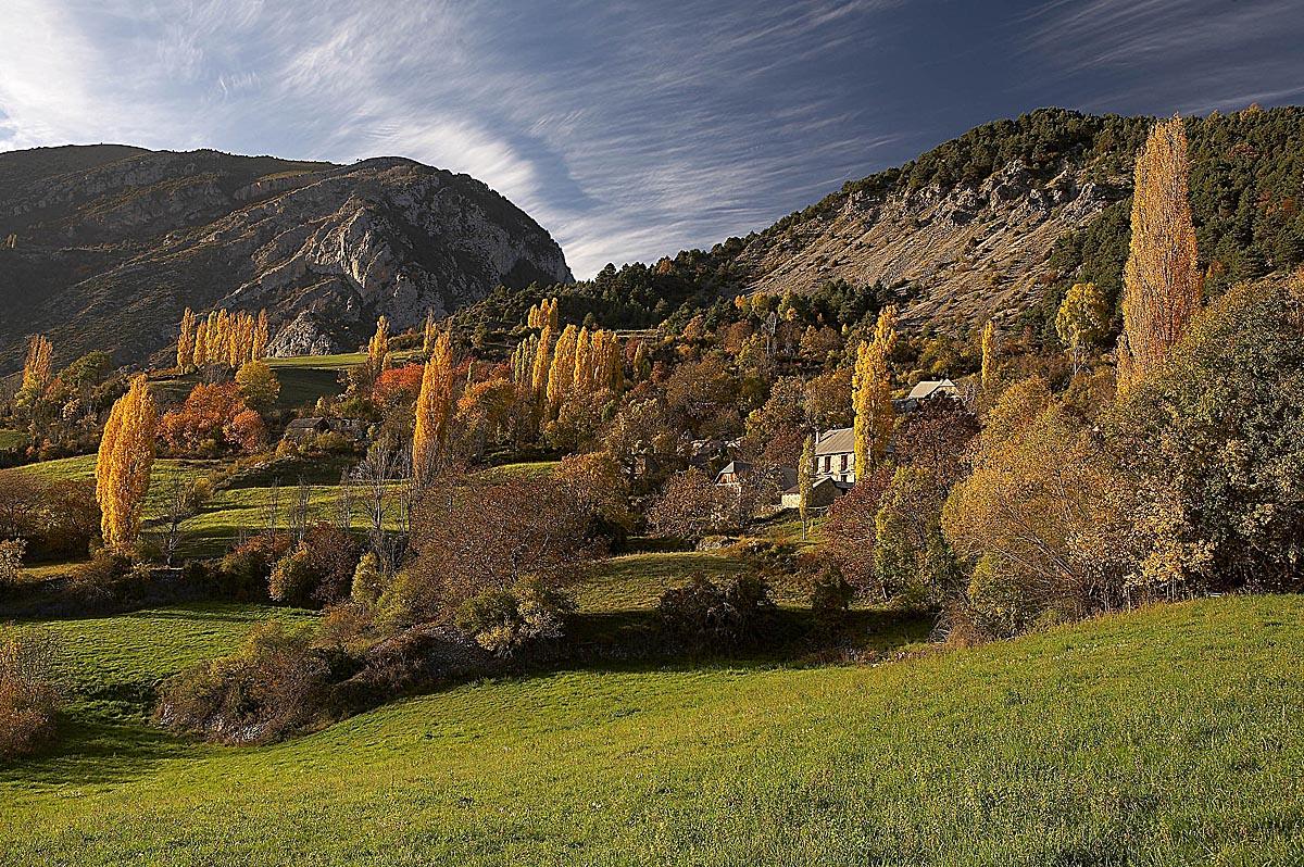 Montaña Segura, Sobrarbe, Señés, valle de Chistau.