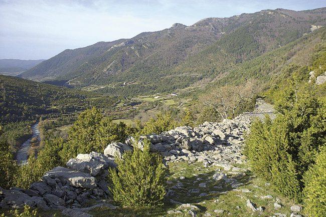 Ruta del Santo Grial en Huesca, valle de Hecho