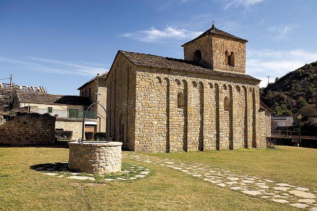 Ruta del Santo Grial en Huesca, San Caprasio