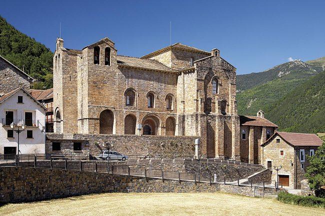 Ruta del Santo Grial en Huesca, Siresa