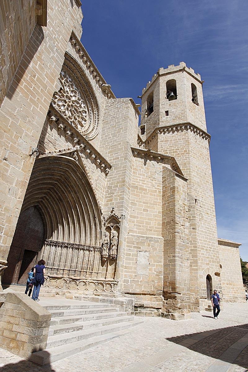 Valderrobres, iglesia de Santa María la Mayor.