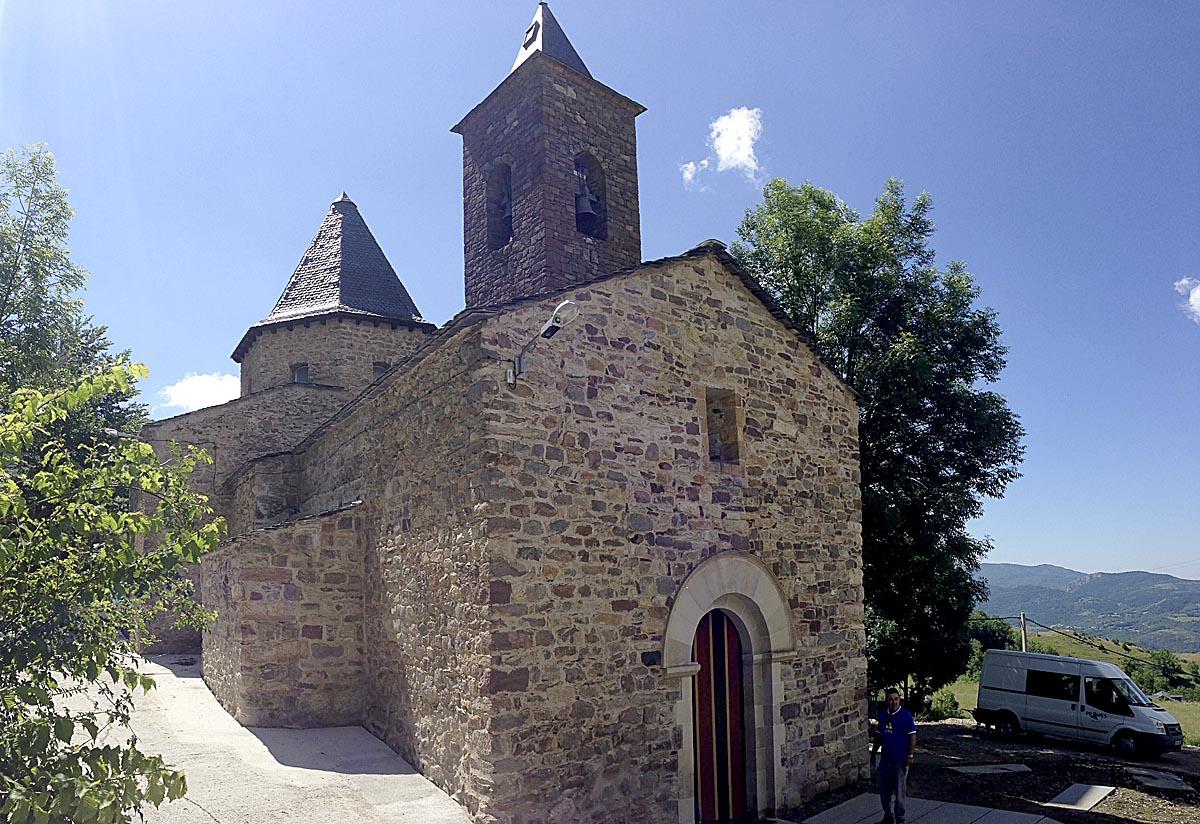 Iglesia de Castanesa.
