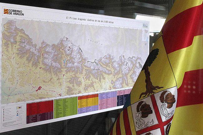 El Proyecto Tresmiles pone nombre oficial a 160 cumbres aragonesas