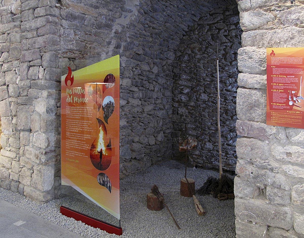 Museo Municipio de Montanuy, fallas