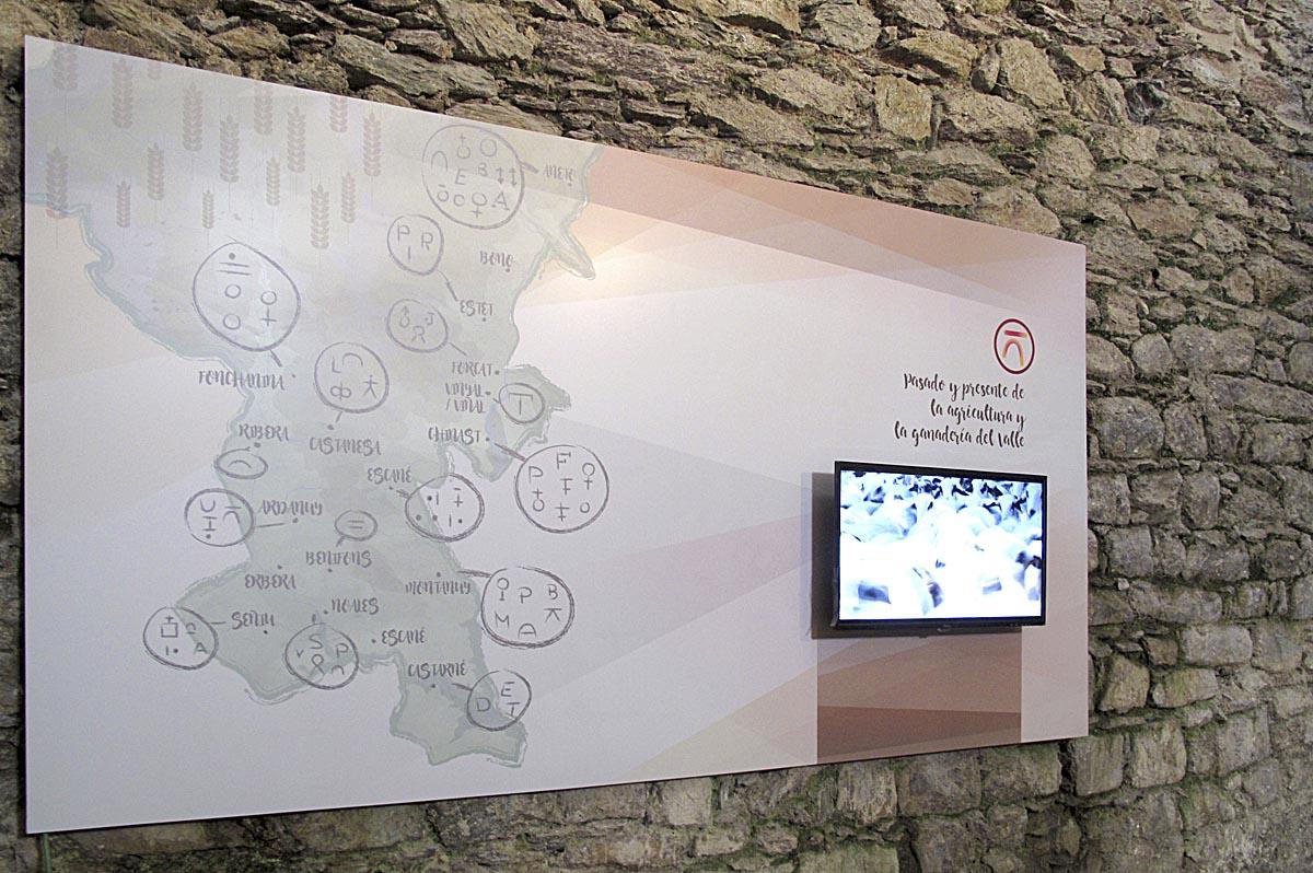 Museo Municipio de Montanuy, panel
