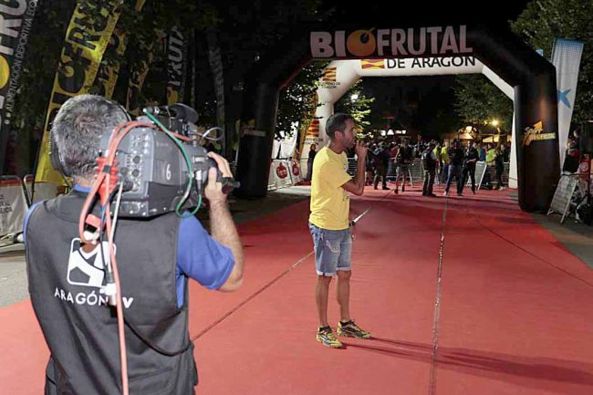 Aragón TV realizó una gran cobertura del evento. FOTOS: GTTAP