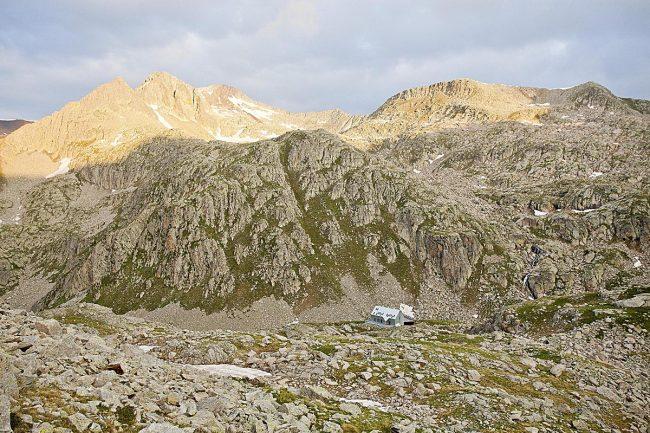 Entorno de alta montaña.