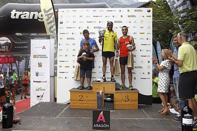 Ganadores de la Vuelta al Pico Cerler: 1º Javi BIELSA (02:25, foto), 2º Carlos MIGUEL y 3º Pablo BRIONES.