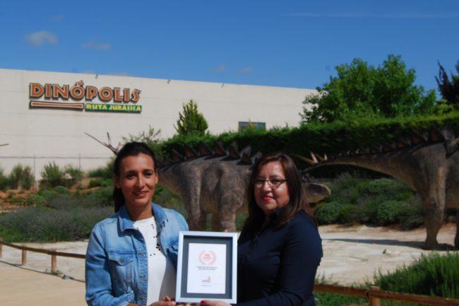 Dinópolis recibe el premio al Mejor Parque en los PAC AWARDS 2018