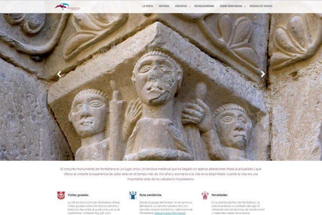 Una nueva web acerca más al conjunto medieval de Montañana