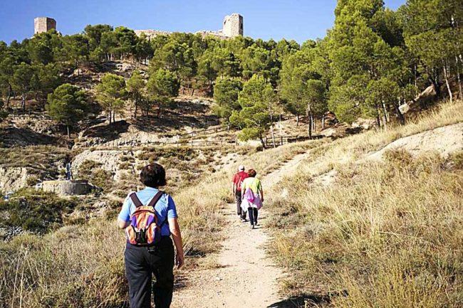 Día del Senderista de Aragón en Calatayud