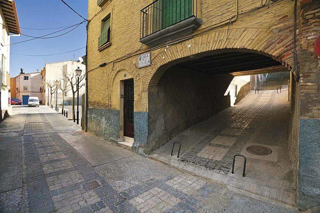 Ruta judía por Huesca, Monzón