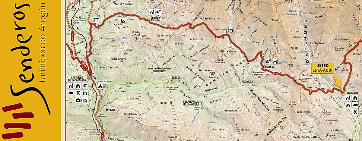 GR 15 Etapa 10 mapa