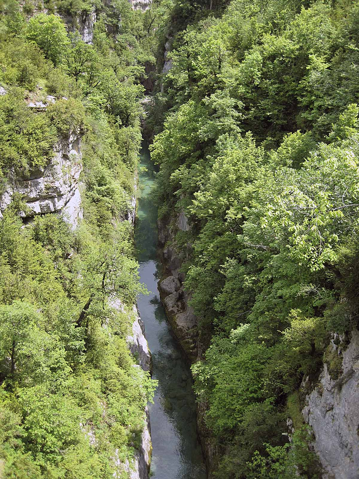 Río Bellós, Añisclo.