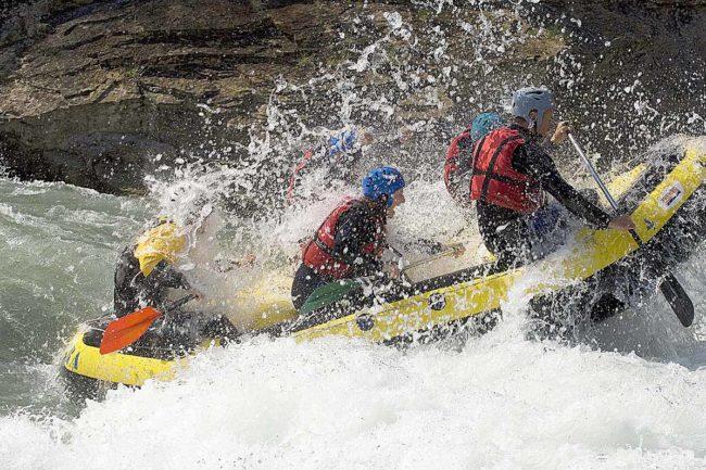 Aguas bravas, río Gállego, Prepyr365.
