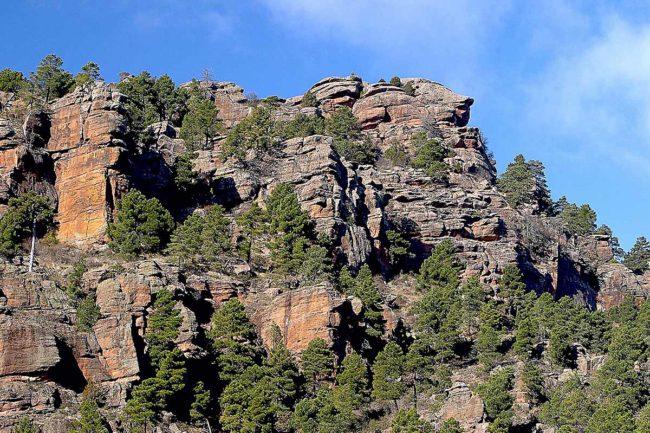 Sierra de Albarracín, rodeno