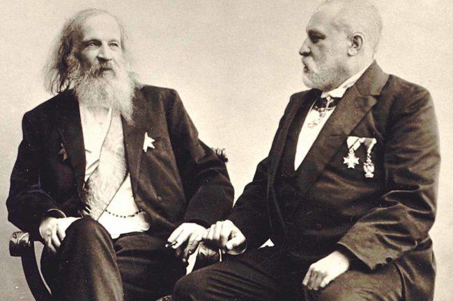 Construyendo la tabla periódica. Dimitri Mendeleyev y Clemens Winkler