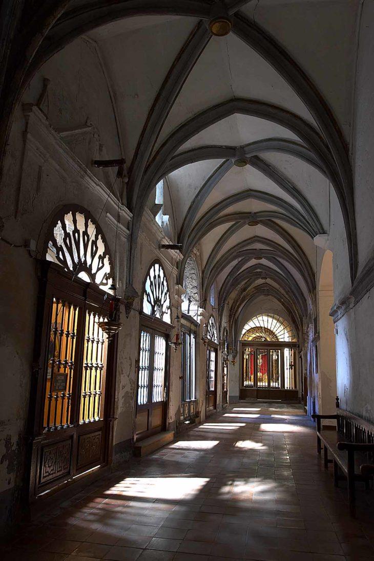 Borja, claustro de la colegiata de Borja, Celtiberia
